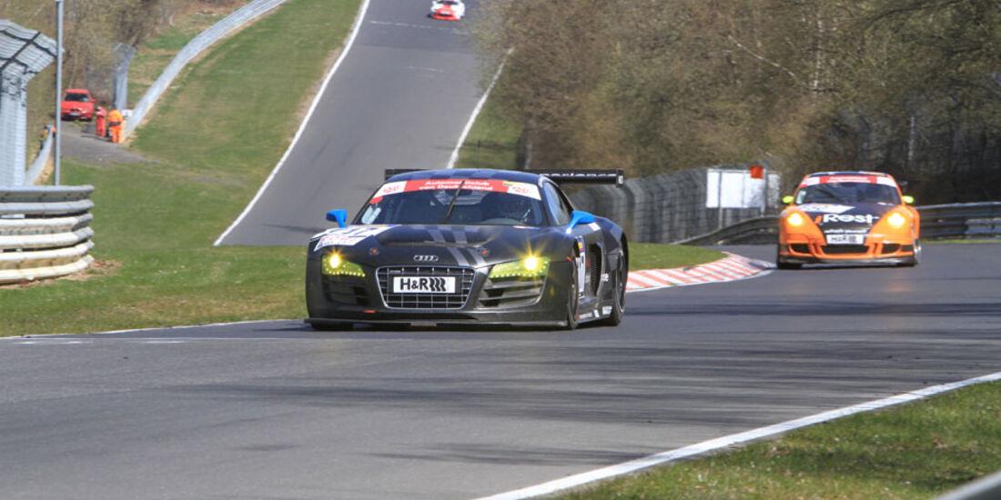 VLN 3.Lauf Langstreckenmeisterschaft Nürburgring, Audi race experience Team Joest, 24-04-2010