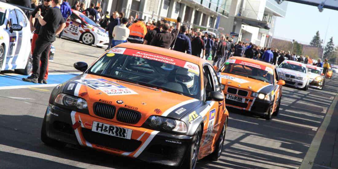 VLN 3.Lauf Langstreckenmeisterschaft Nürburgring Mario Ketterer, Michael Heimrich, Bernd Jung, David Ackermann24-04-2010