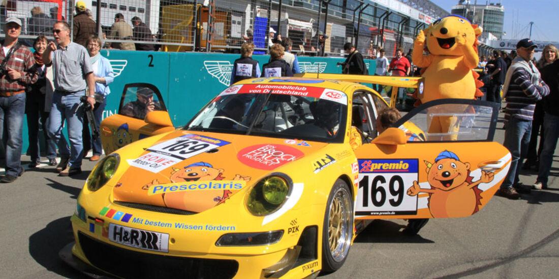 VLN 3.Lauf Langstreckenmeisterschaft Nürburgring Prescolaris Team MSpeed Norbert Fischer Marco Seefried Ralf Kellners 24-04-2010