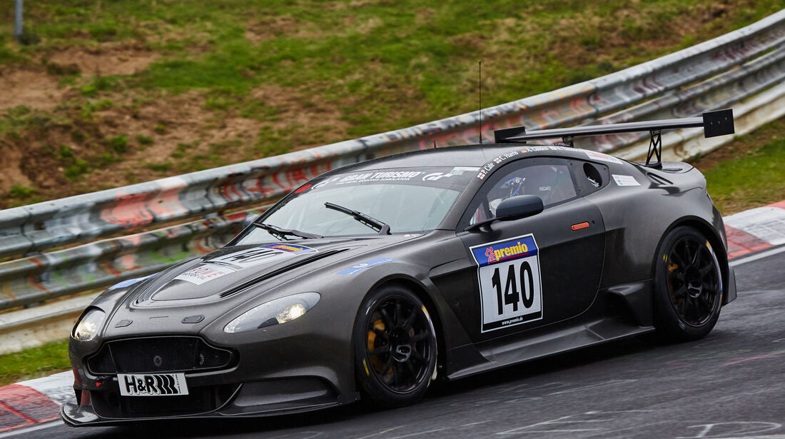 VLN - Langstreckenmeisterschaft - Nürburgring - Nordschleife - Aston Martin Vantage GT12 - #140
