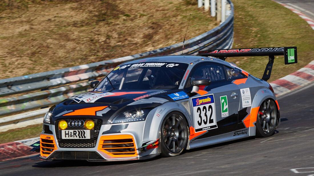VLN2015-Nürburgring-Audi TTS-Startnummer #332-SP3T