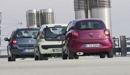 VT Renault Twingo, Ford Ka, Citroen C1