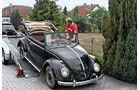 VW 1200 Cabrio, Frontansicht, Abladen