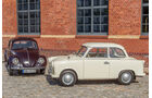 VW 1200, Trabant P, Frontansicht