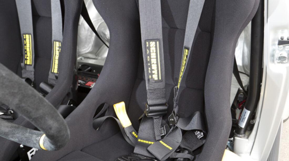 VW 1303 Rallye, Detail, Fahrersitz