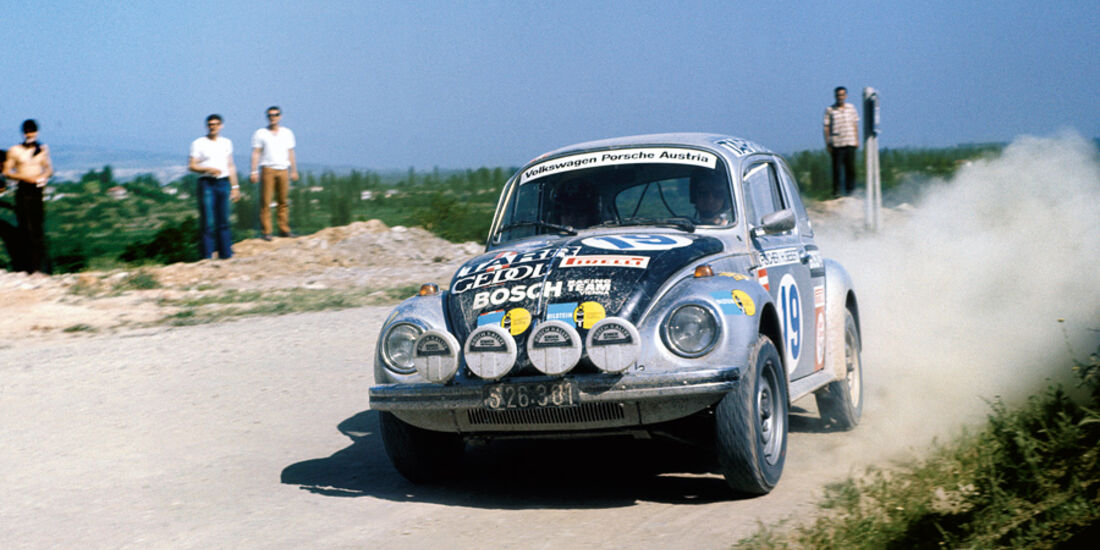 VW 1303 Rallye, Detail, Felge