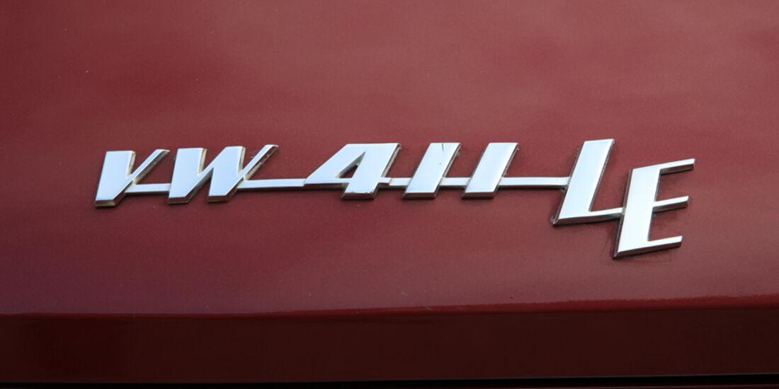 VW 411 LE, Emblem