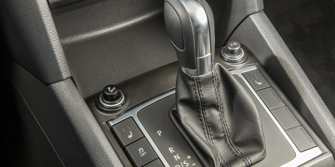 VW Amarok Double Cab 2.0 Bi TDi 4Motion BM T Highline, Schalthebel