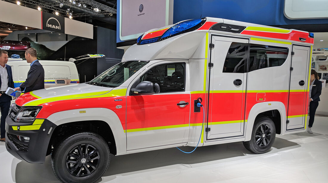 VW Amarok Krankenwagen