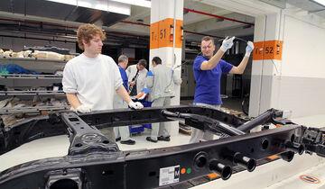 VW Amarok Produktion Werk Hannover 2012