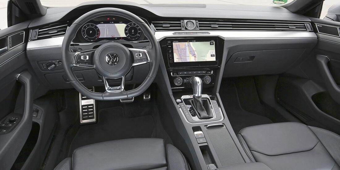 VW Arteon, Interieur