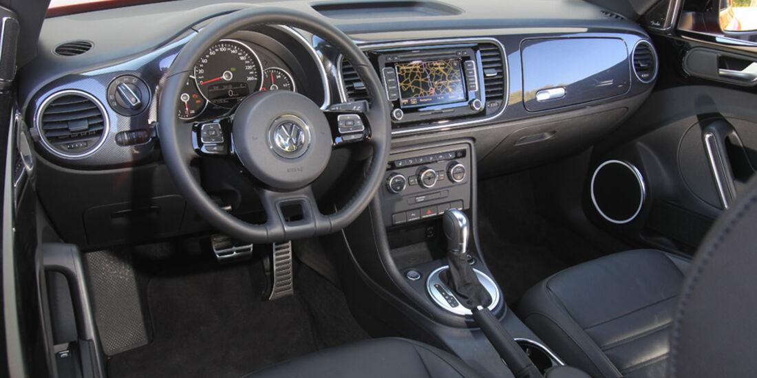 VW Beetle 2.0 TSI, Cockpit
