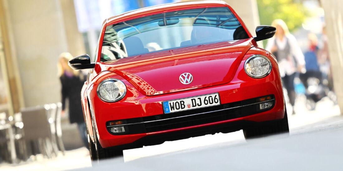 VW Beetle 2.0 TSI, Front