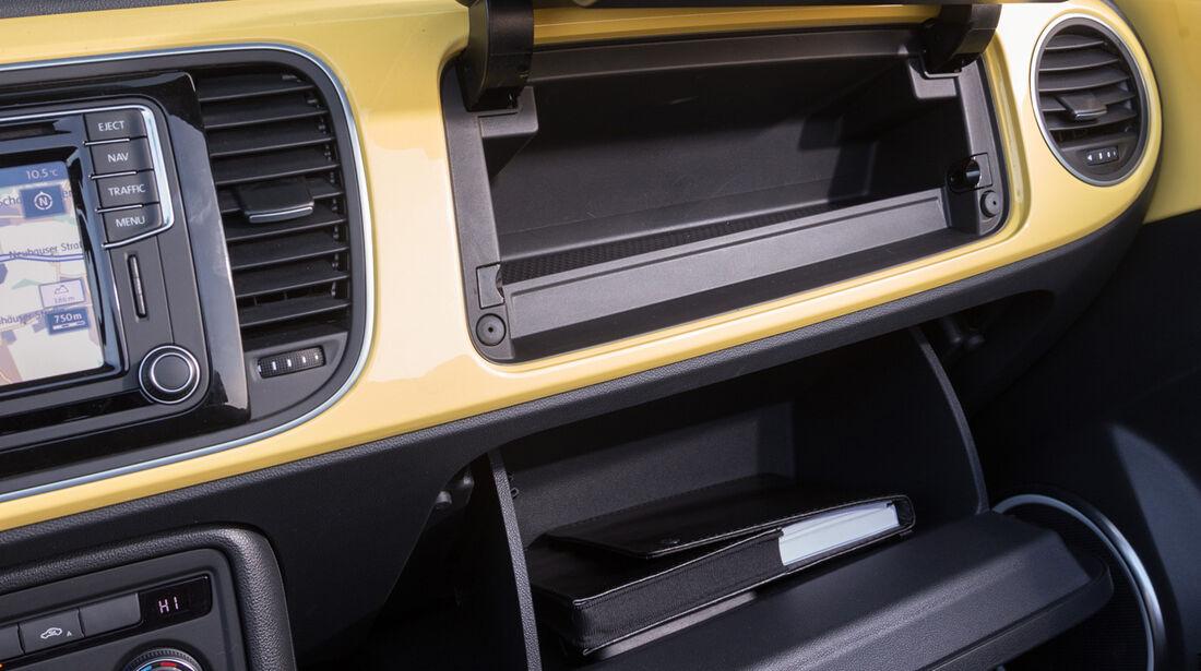 VW Beetle Cabrio 1.4 TSI, Handschuhfach