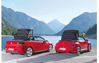 VW Beetle Cabrio, VW Golf Cabrio, Verdeck