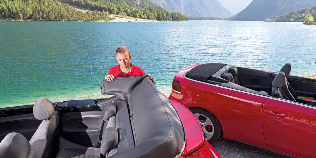 VW Beetle Cabrio, Verdeck