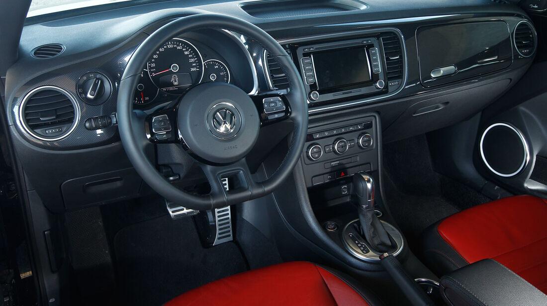 VW Beetle Sport, Cockpit