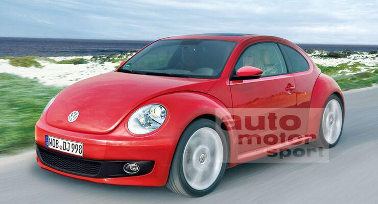 retro modelle neuer vw beetle und fiat 500 kombi auto. Black Bedroom Furniture Sets. Home Design Ideas