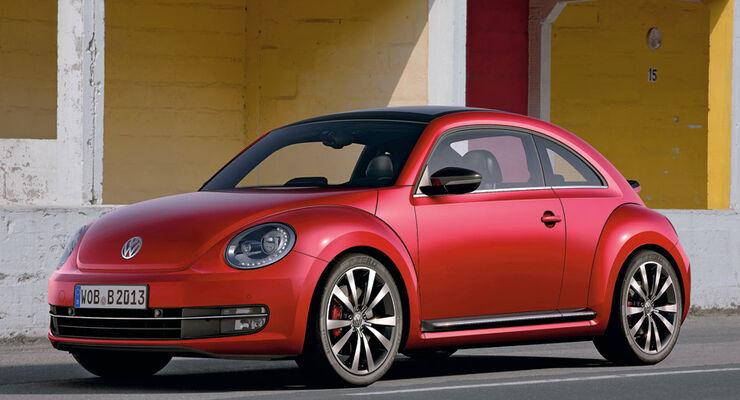 VW Beetle R-Version: Würdiger Herbie-Nachfolger mit 270 PS - auto ...