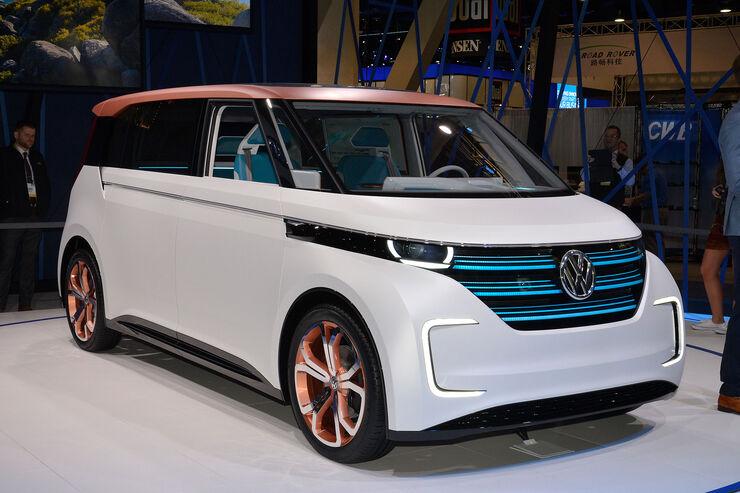 Vw Konzern Marken >> VW Budd-E auf der CES: Zukunfts-Bus aus dem E-Baukasten - auto motor und sport