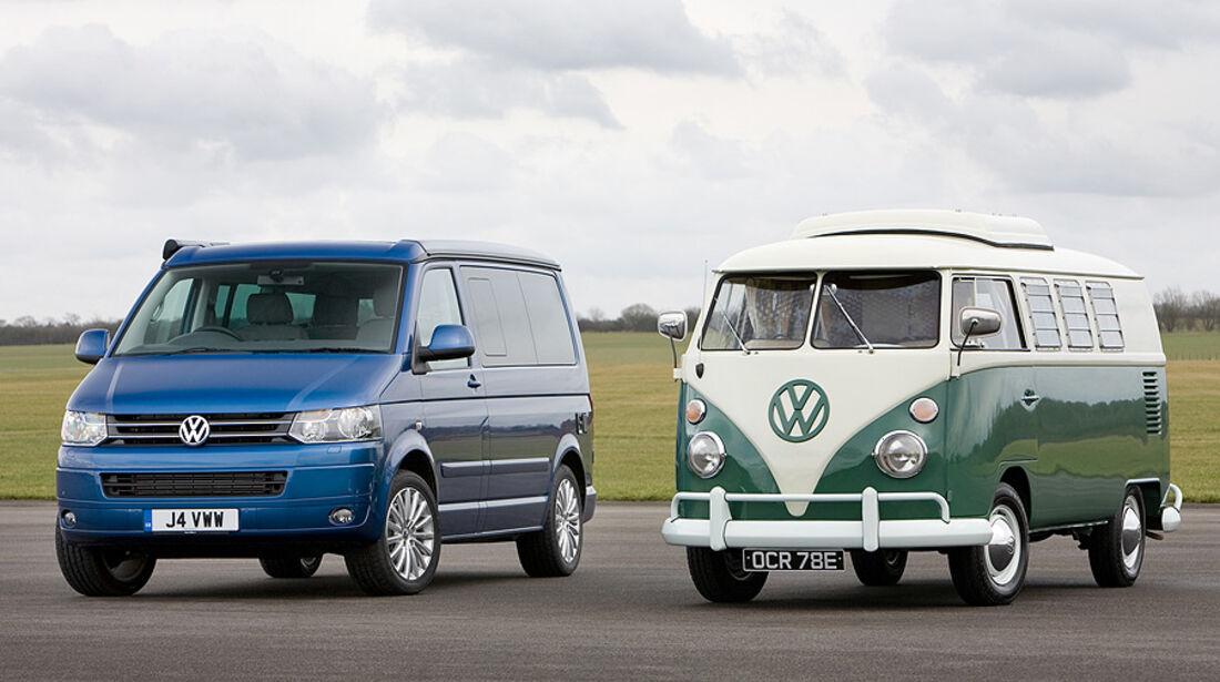 VW Bulli Historie-