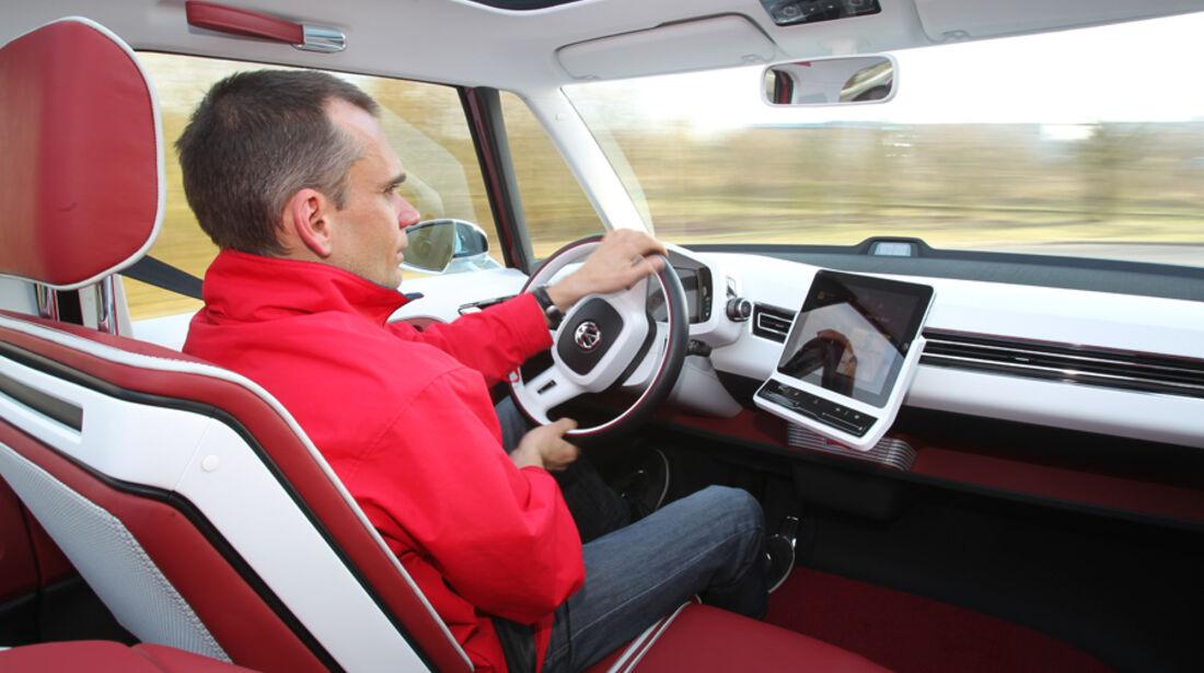 VW Bulli, Studie, Cockpit, Jörn Thomas
