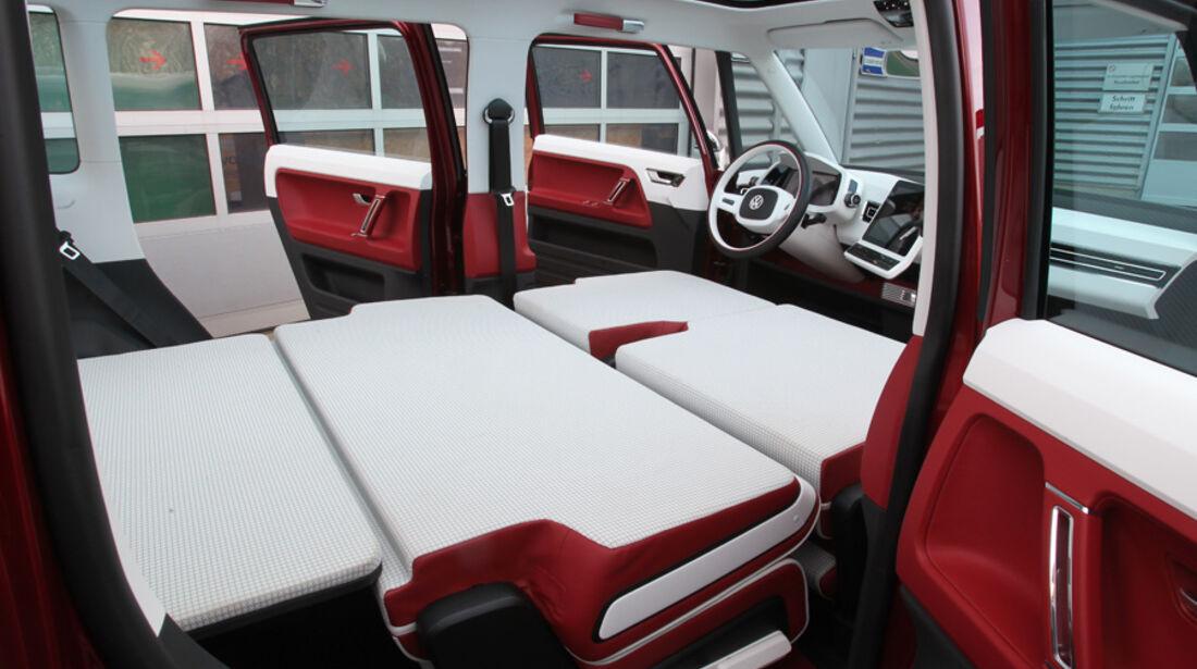 VW Bulli, Studie, Innenraum, Interieur