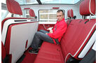 VW Bulli, Studie, Sitze, hinten, Sitzbank