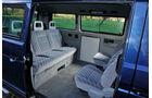 VW Bus, T3, Fondsitze