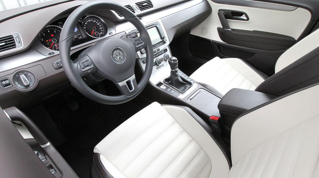 VW CC 1.8 TSI, Innenraum