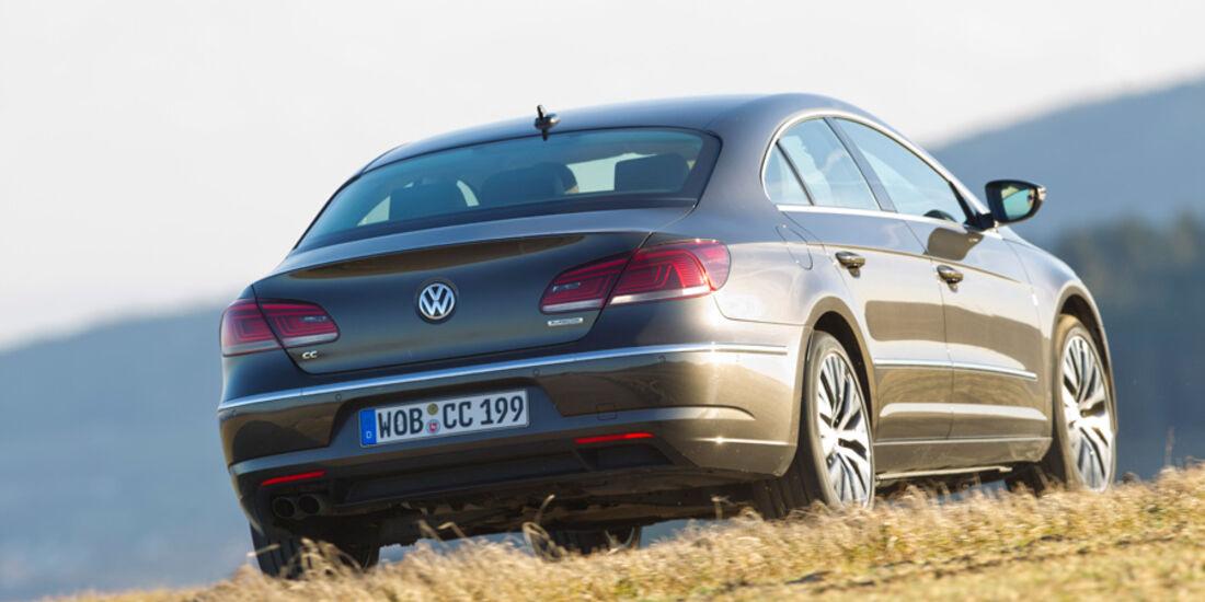 VW CC 2.0 TDI, Heck