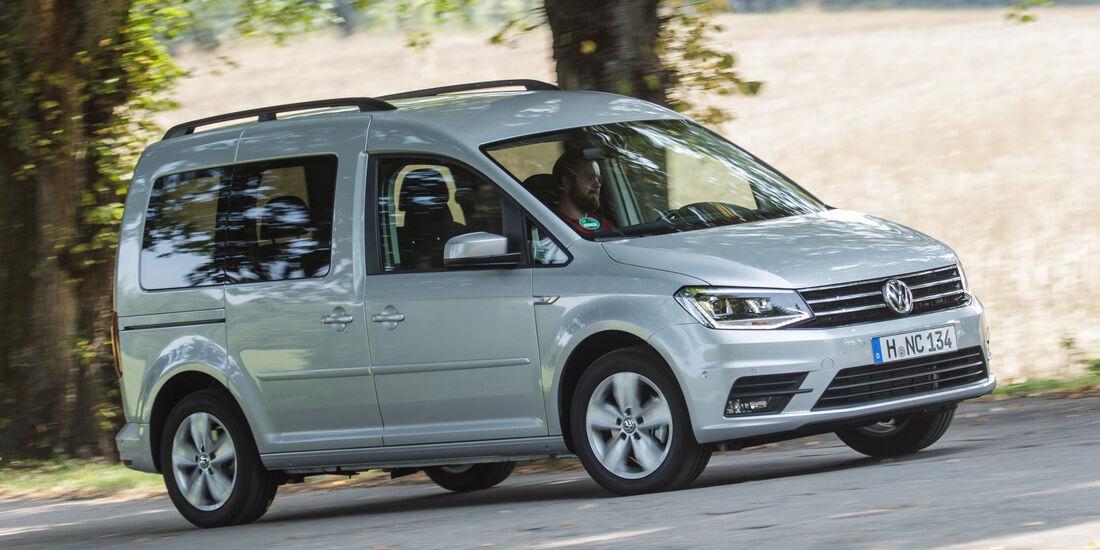 VW Caddy 2.0 TDI, Seitenansicht