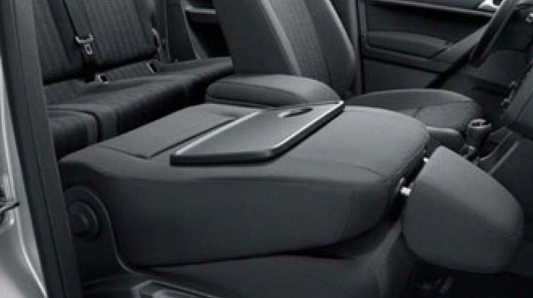 VW Caddy, Armlehne