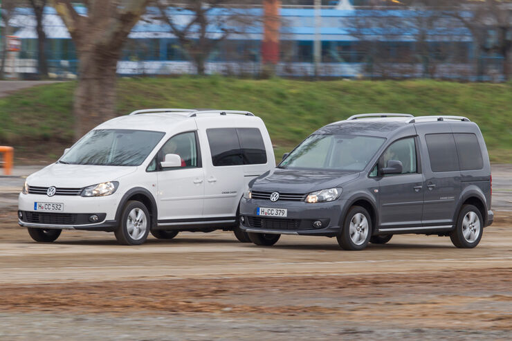 VW Caddy Bifuel, VW Caddy Ecofuel, Frontansicht