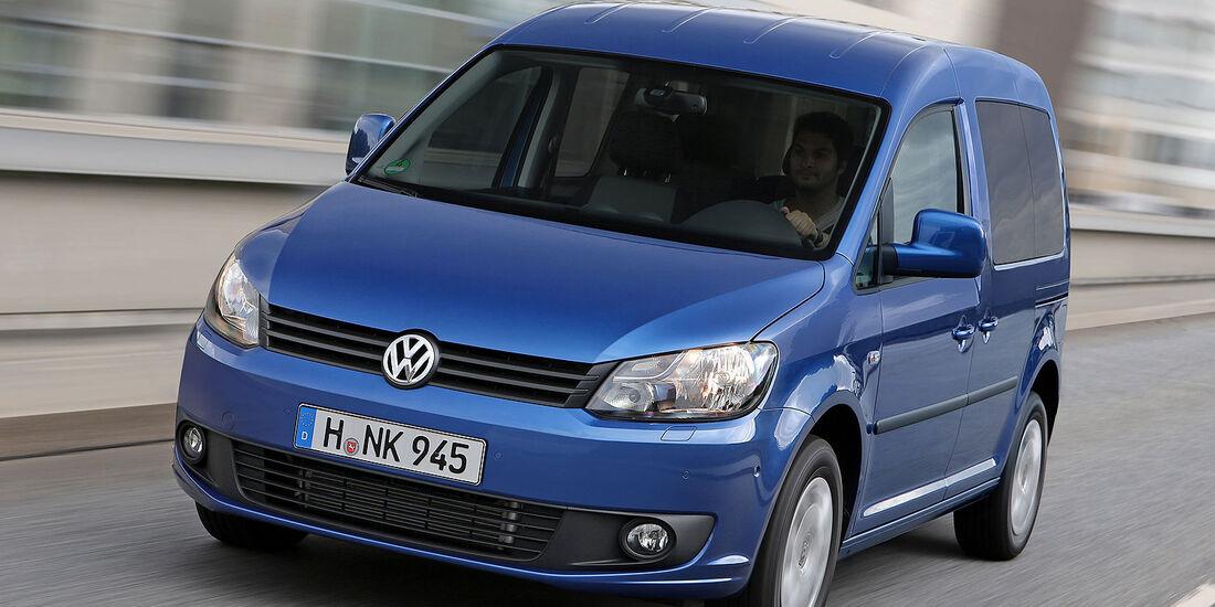VW Caddy Blue Motion 1.6 TDI