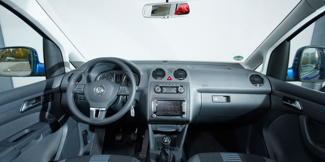 VW Caddy, Cockpit