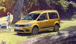 VW Caddy Family, 2016, Hochdachkombi