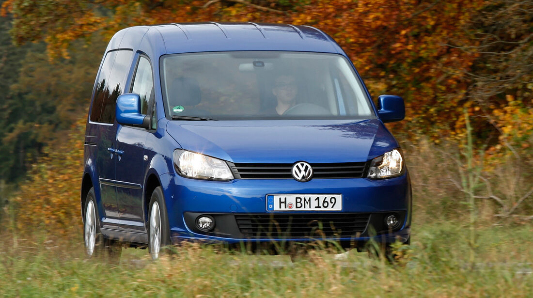 VW Caddy, Frontansicht