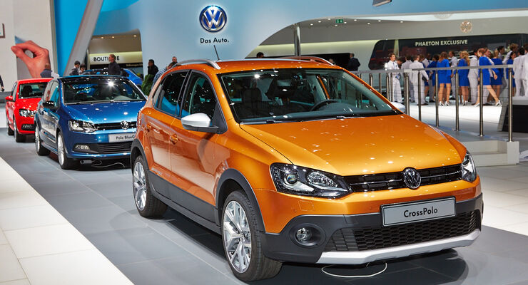 VW CrossPolo, Polo Cross, Genfer Autosalon, Messe 2014
