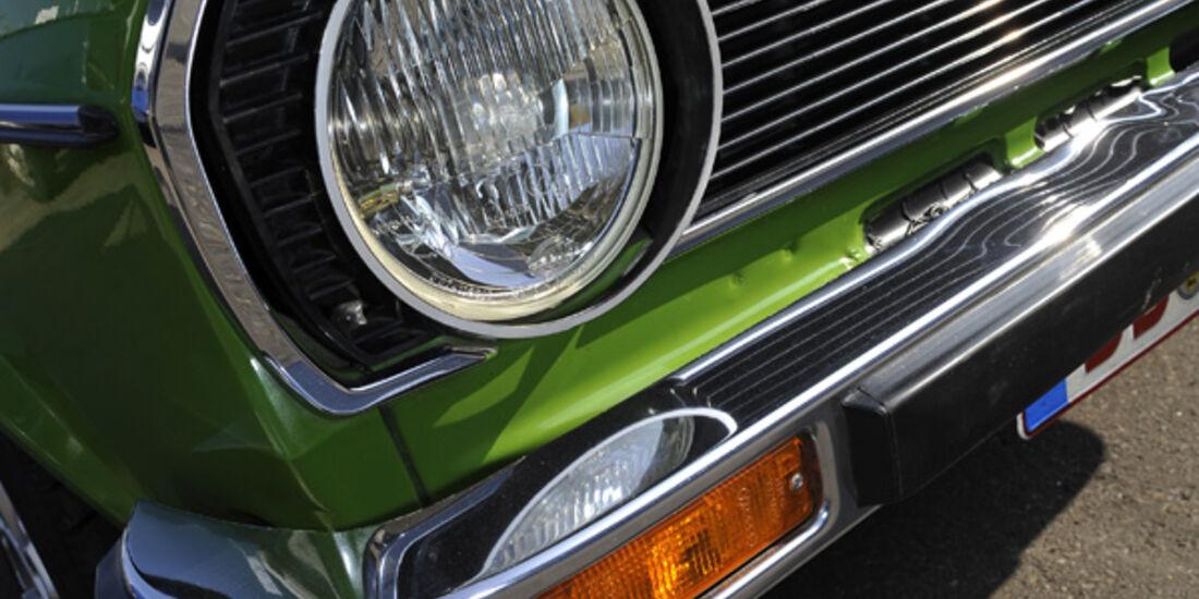 VW Derby, GLS, Scheinwerfer