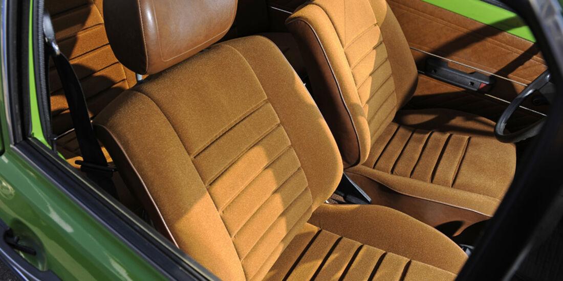 VW Derby, GLS, Sitze