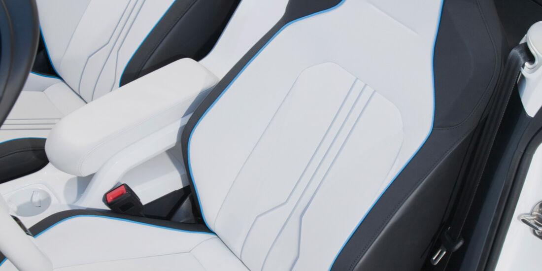 VW E-Bugster, Fahrersitz