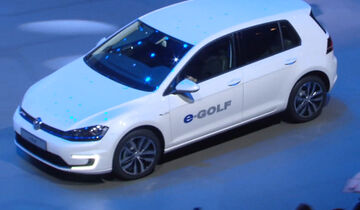 VW E-Golf, IAA