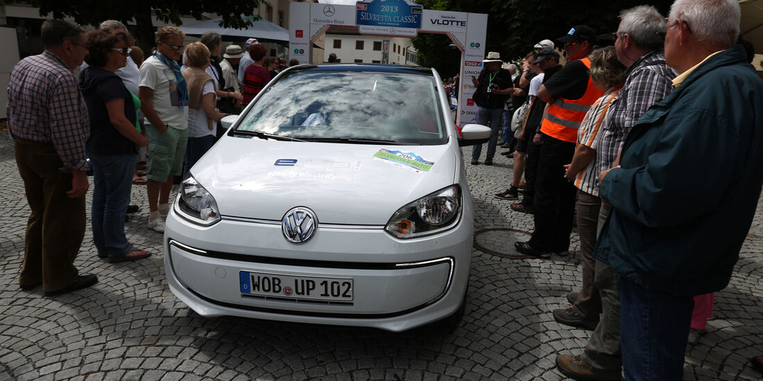 VW E-Up, Frontansicht