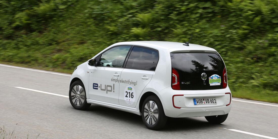 VW E-Up, Heckansicht
