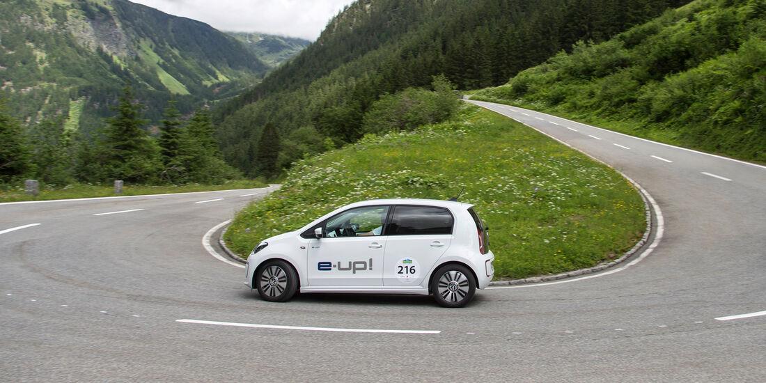 VW E-Up, Seitenansicht