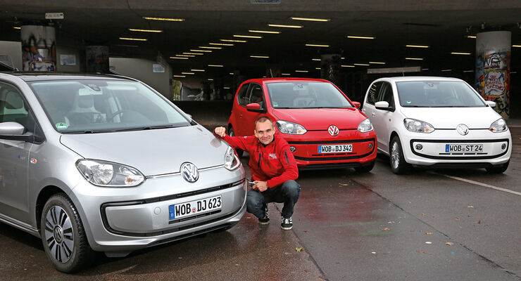 VW E-Up, VW Up, Modellvarianten