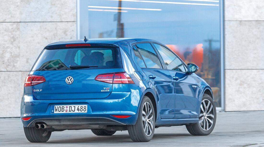 VW Golf 1.4 TSI ACT, Heckansicht