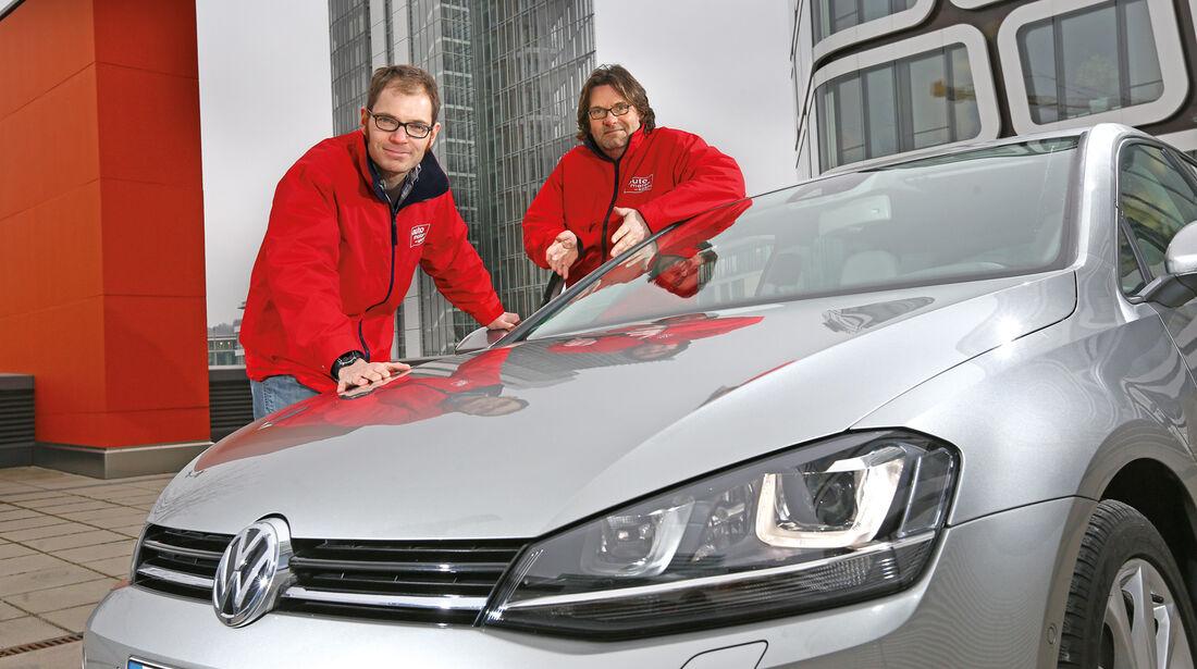 VW Golf 1.4 TSI ACT Highline, Frontansicht