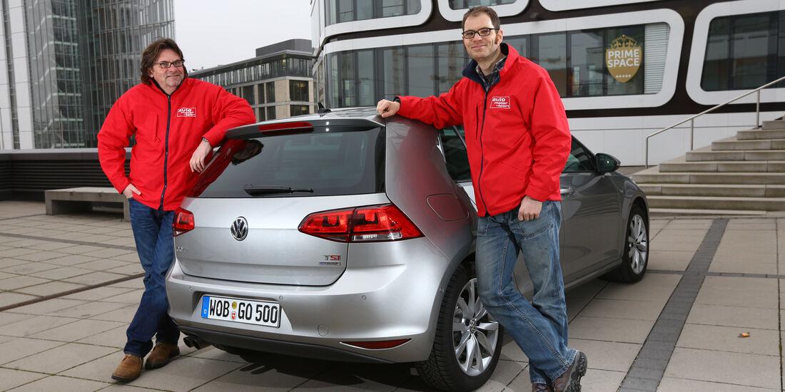 VW Golf 1.4 TSI ACT Highline, Heckansicht